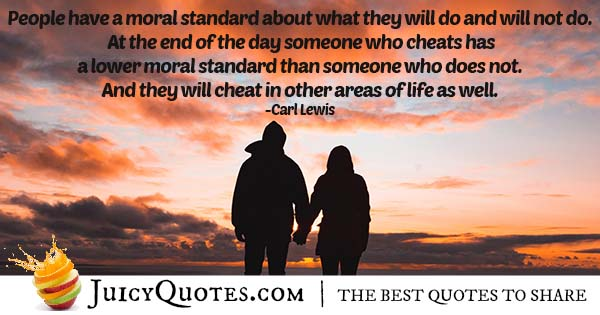 Moral Standards Quote