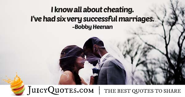 Six Successful Marriages Quote