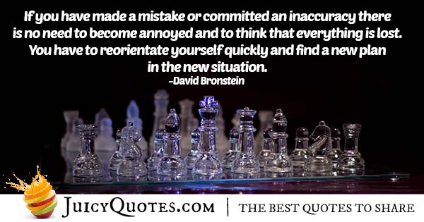 Mistakes In Chess Game Quote