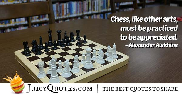 Chess Practice Quote