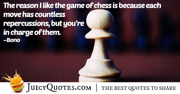 Why I Like Chess Quote