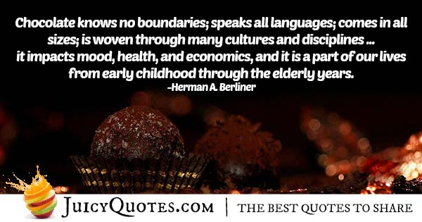 Quote About Chocolate