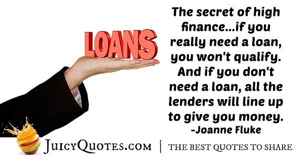 High Finances Quote