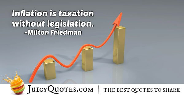 Quote About Inflation