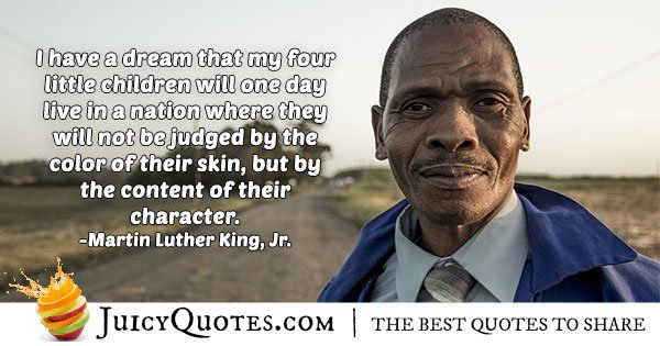 Color Of Skin Quote