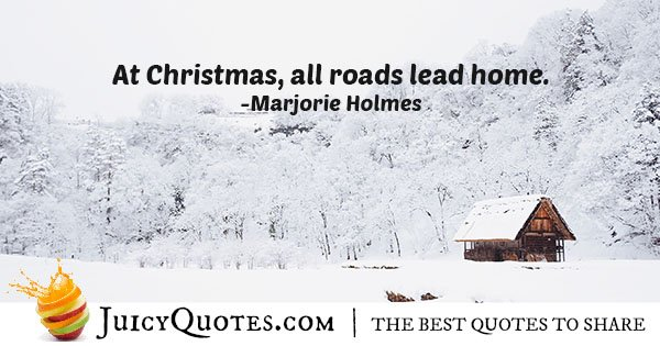 Christmas Quote About Home