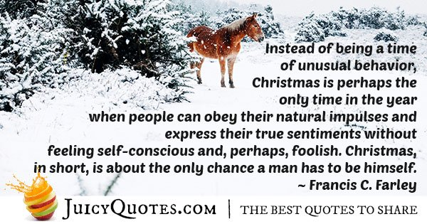 Christmas Time Quote