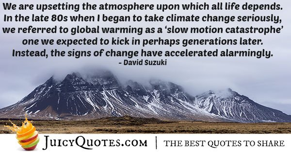 Climate Change Quotes And Sayings Also About Global Warming Page 3