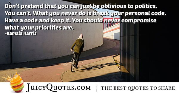 Never Compromise Quote