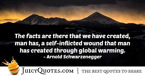 Creation of Global Warming Quote