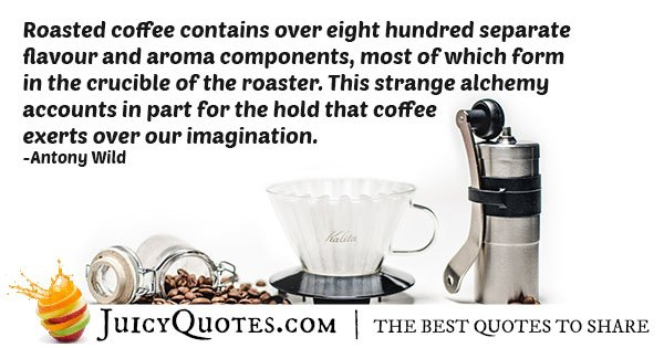 Roasted Coffee Quote