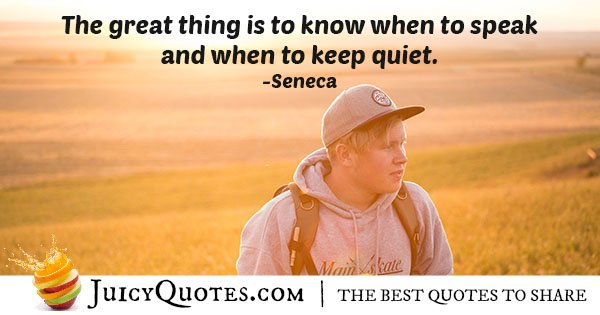 When to Communication Quote