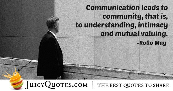 Communication and Understanding Quote