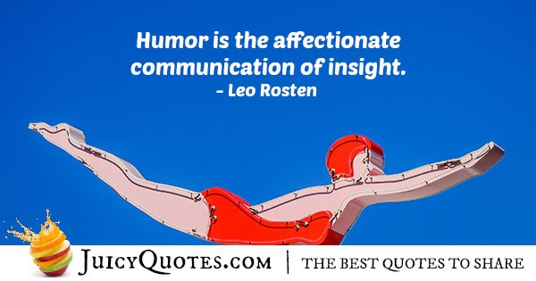 Communication and Humor Quote