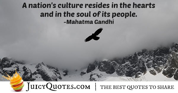 Nations Culture Quote