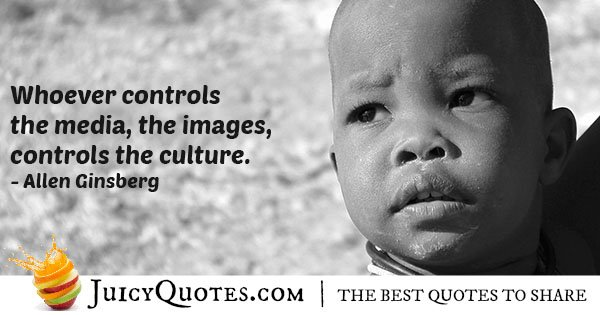 The Media and Culture Quote