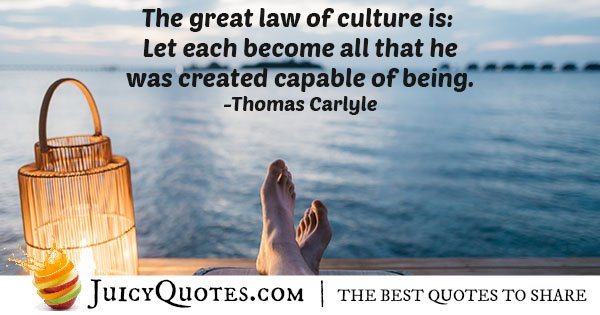 Law of Culture Quote