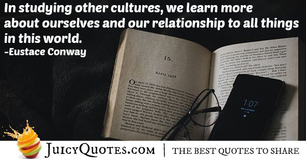 Studying Cultures Quote