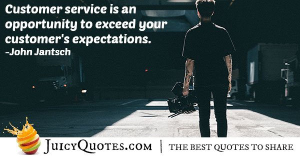 Customer Expectation Quote