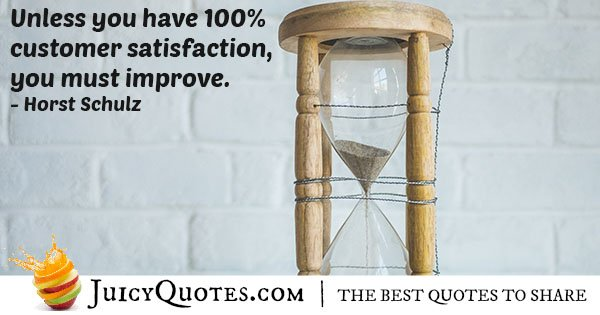 Improve Customer Satisfaction Quote