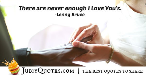 Cute Saying I Love You Quote