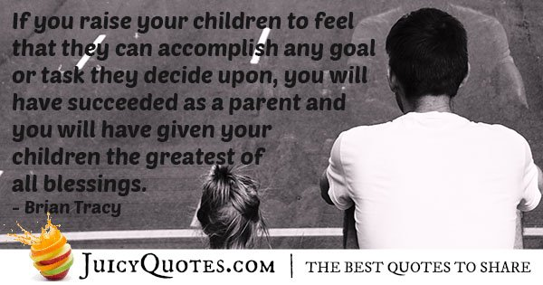 Succeeding As a Father Quote