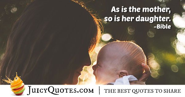 Quote About Mother and Daughter