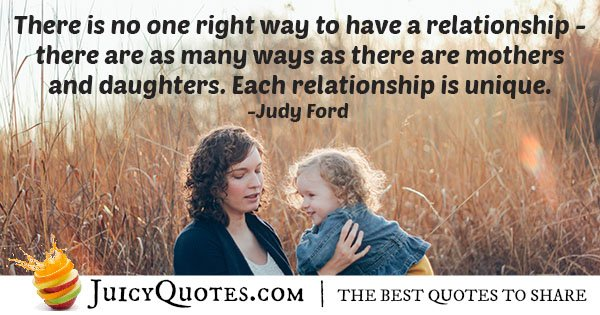 Mother Daughter Relationship Quote