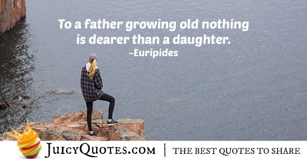 Father and Daughter Quote