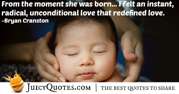Unconditional Daughter Love Quote