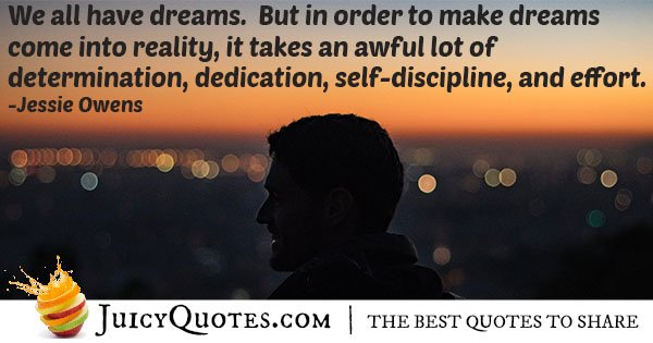 Lots of Dedication Quote