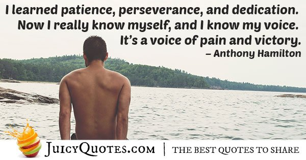 Perseverance and Dedication Quote