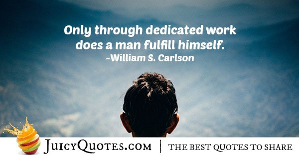 Dedicated Work Quote