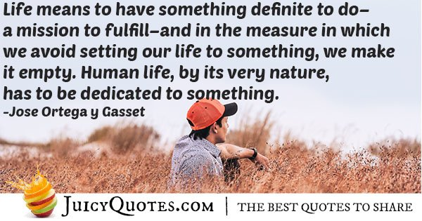 Dedicated to Something Quote