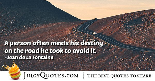 Meeting Destiny Quote