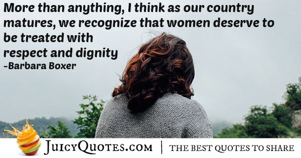 Respect and Dignity Quote