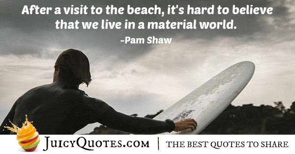 Material World Quote