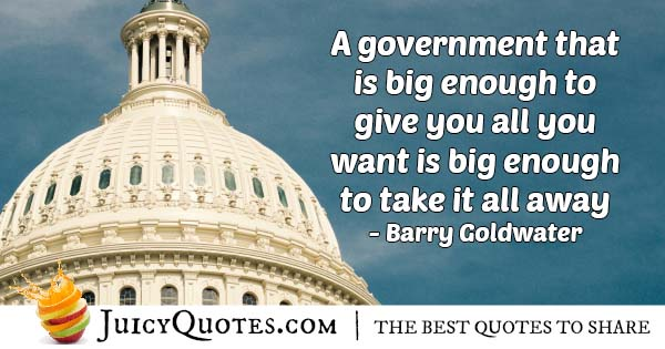 Government and Welfare Quote