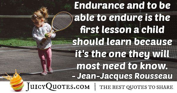 Able to Endure Quote