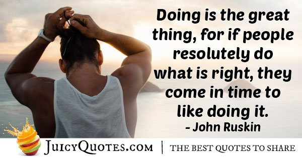 Doing What is Right Quote