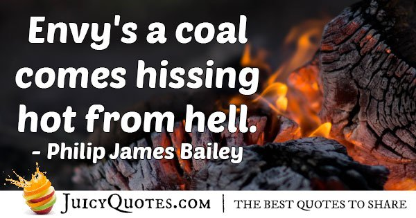 Envy Quotes Simple Envy's Coal Quote With Picture