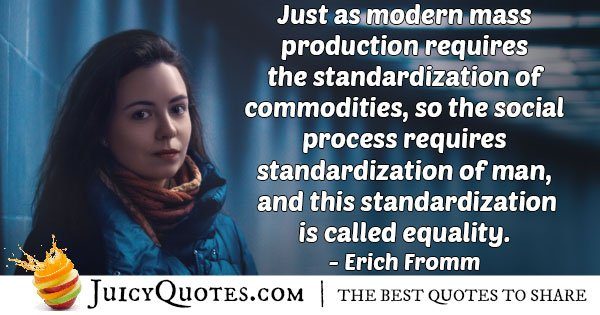 Equality of Mankind Quote