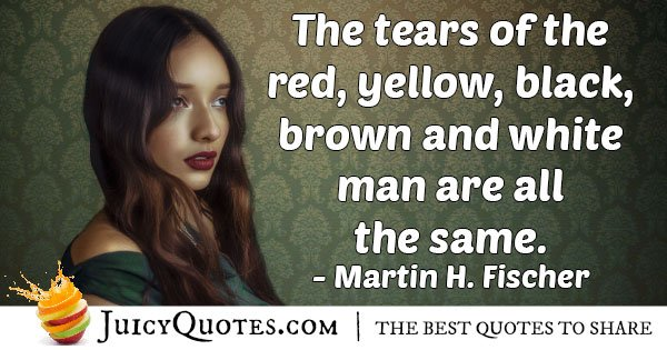 Tears of Mankind Quote