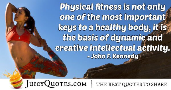 Physical Fitness Quote