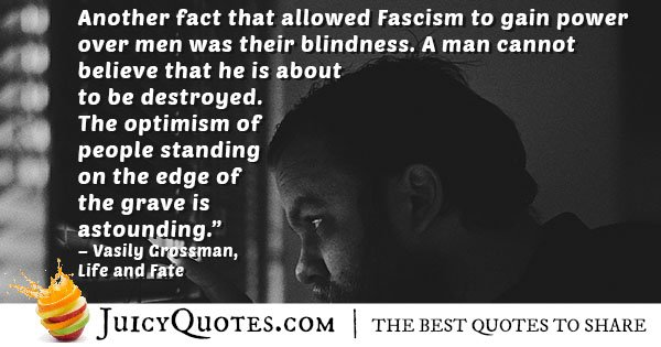 Fascism To Gain Power Quote With Picture