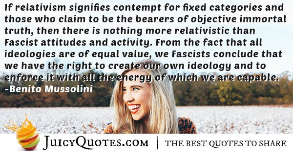 Fascists Attitudes and Activity Quote