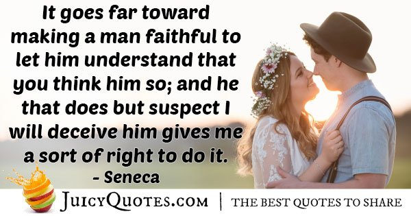 A Man Faithful Quote