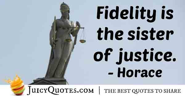 Sister of Justice Quote