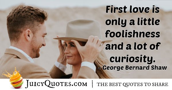 Foolish First Love Quote