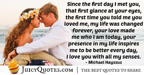 First Love Inspires Quote